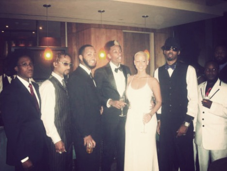 Amber Rose and Wiz Khalifa Married Pictures