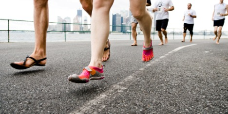 Barefoot Running Benefits