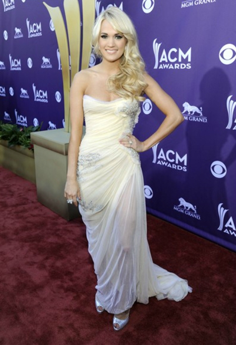 Carrie Underwood ACM 2012