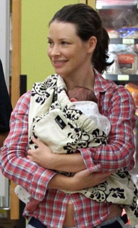 Evangeline Lilly Baby Boy Name and Baby Daddy Norman Kali ...