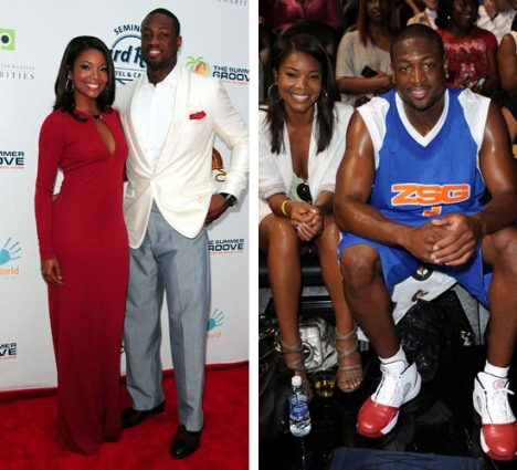 Gabrielle Union and NBA Boyfriend Dwyane Wade