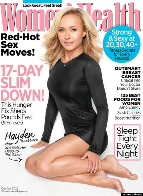 Hayden Panettiere Women's Health