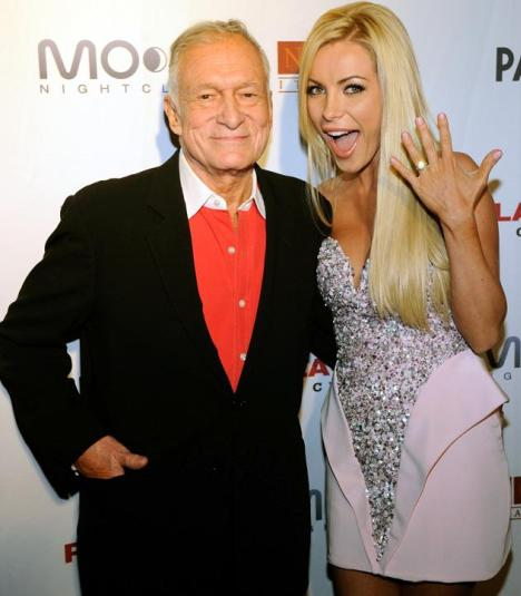 Hugh Hefner Married Crystal Harris
