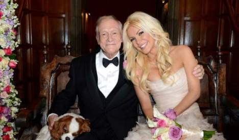 Hugh Hefner Wedding 2012