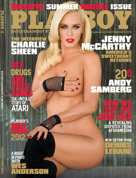 Jenny McCarthy Playboy Cover 2012: Poses Nude Before Turning 40