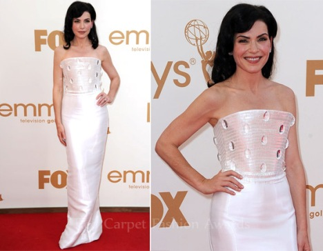 Julianna Margulies Emmy Dress 2011