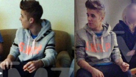 Justin Bieber Alleged Drug Photos