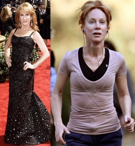 Kathy Griffin No Makeup