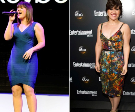 Kelly clarkson weight loss secret 2013 before and after photos