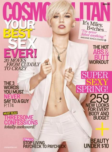 Miley Cyrus Cosmopolitan