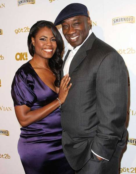 Omarosa Manigault-Stallworth and Michael Clarke Duncan