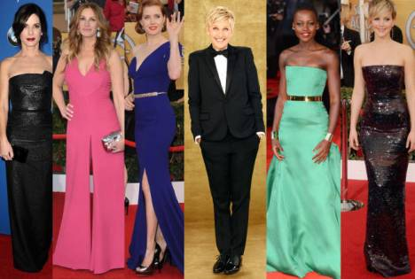 Oscars 2014 Dress Predictions