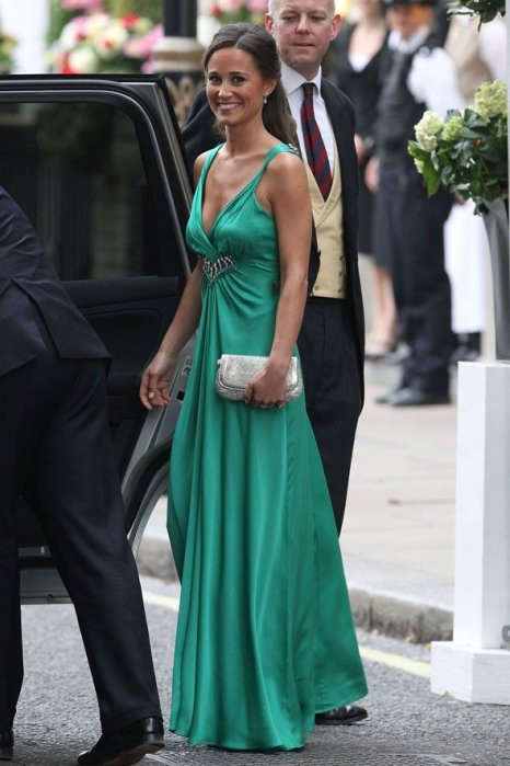 pippa middleton evening dress royal wedding Royal Düğün Resepsiyon Pippa Middleton 2012 Abiye modası