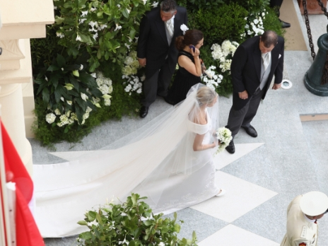 Princess Charlene Wedding Dress 