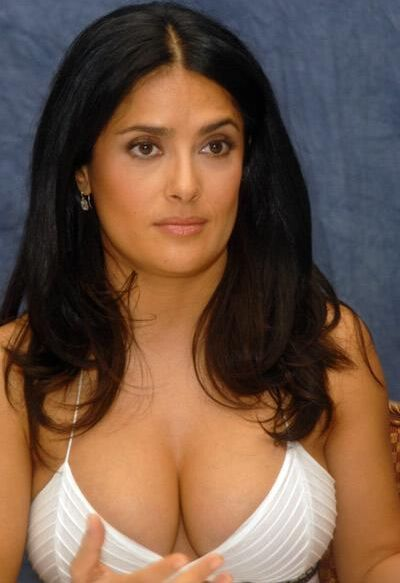 salma hayek husband age. makeup salma hayek husband