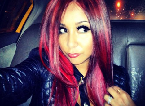 Snooki  Baby on Snooki Red Hair 2012  Now A Fiery Redhead   Mydochub  Health Blog