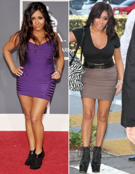 Snooki Weight Loss Before and After