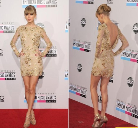 Taylor Swift American Music Awards (AMA) 2012 Dress