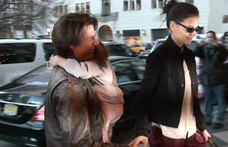 Katie Holmes   Cruise Split on Tom Cruise And Katie Holmes Divorce Settlement Reached   Mydochub