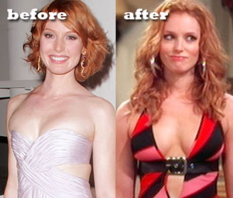 Alicia Witt Plastic Surgery Before and After Breast Implants