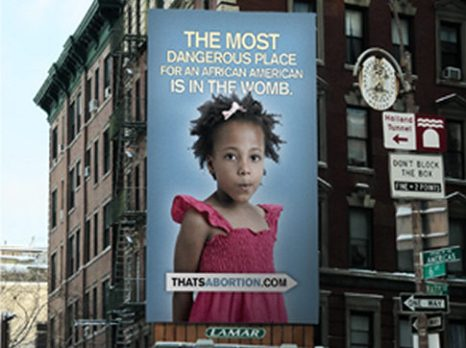 Racial Anti-Abortion Billboard in New York City