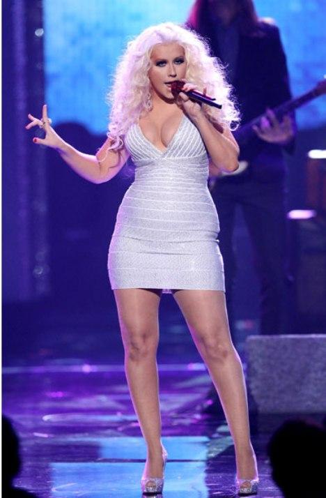 Christina Aguilera AMAS 2011
