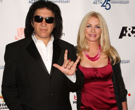 Gene Simmons And Shannon Tweed Wedding Married After 28 Years Together