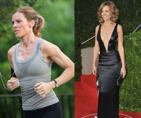Hilary Swank Weight Loss Routine