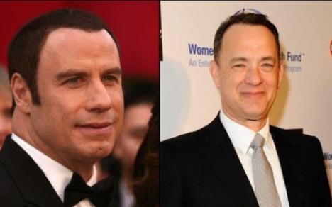 John Travolta Hair Transplant and Tom Hank Hair Transplant