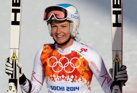 Julia Mancuso 2014 Winter Olympics in Sochi, Russia