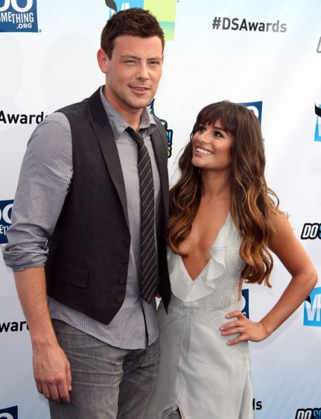 Glee cory dating