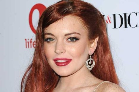Lindsay Lohan Dancing With he Stars