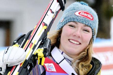 Mikaela Shiffrin 2014 Sochi Winter Olympics