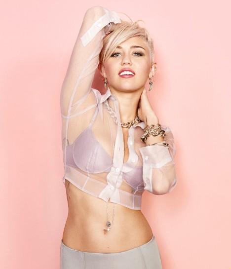 Miley Cyrus Cosmopolitan Magazine March 2013