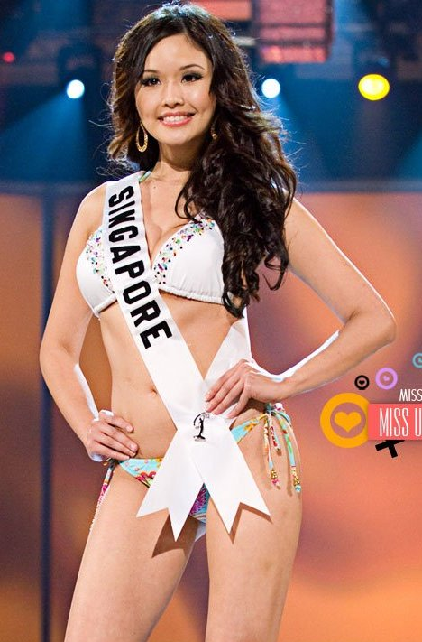 Rachel Kum Miss Singapore 2009