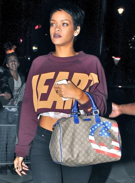 Rihanna New Tattoo