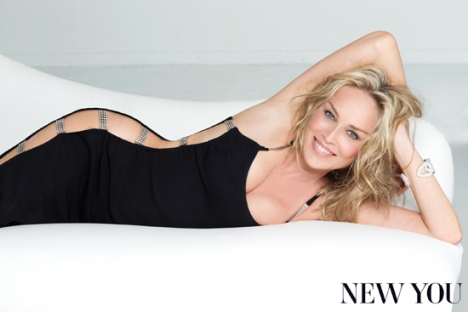 Sharon Stone Talks About Plastic Surgery at 55 on New You Magazine