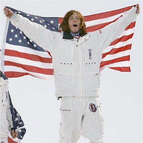 Shaun White Snowboarder