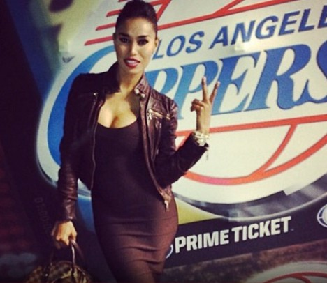V. Stiviano Clippers Instagram
